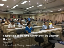 Symposium 400 Years Of Vincentian Charism